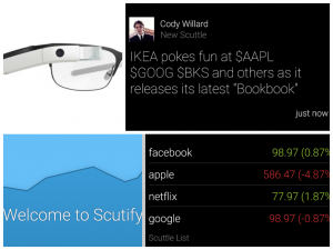 Google Glass App Screenshots