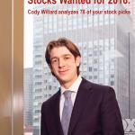 Stocks Wanted for 2016: Cody Willard analyzes 78 of your stock picks